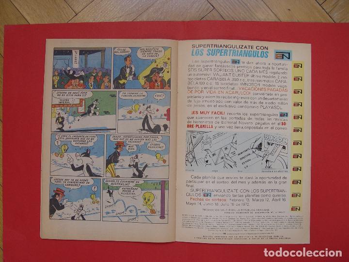 Tebeos: LOTE 2 COMICS: PORKY Y SUS AMIGOS (EDIT. NOVARO -MÉXICO-) 1972 ¡ORIGINALES! - Foto 5 - 107793663
