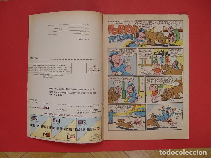 Tebeos: LOTE 2 COMICS: PORKY Y SUS AMIGOS (EDIT. NOVARO -MÉXICO-) 1972 ¡ORIGINALES! - Foto 9 - 107793663