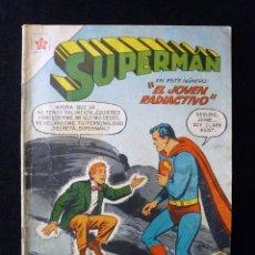 Tebeos: SUPERMAN, Nº 123. EL JOVEN RADIACTIVO, EDICIONES RECREATIVAS ER (NOVARO). 1958. Lote 108695055