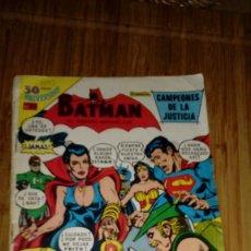 Tebeos: BATMAN Nº 2-1042 NOVARO SERIE AGUILA. Lote 108743963