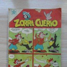 Tebeos: LA ZORRA Y EL CUERVO AÑO I Nº 11. EDITORIAL NOVARO. 1953. Lote 109170787