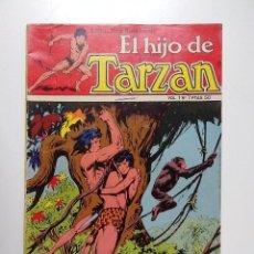 Tebeos: EL HIJO DE TARZAN EDICIONES NOVARO VOL 1 Nº 7. Lote 109203875