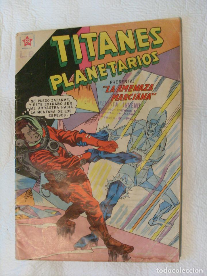 TITANES PLANETARIOS, NÚMERO 86, ABRIL 1960 NOVARO (Tebeos y Comics - Novaro - Sci-Fi)