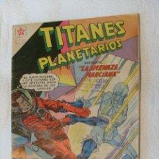 Tebeos: TITANES PLANETARIOS, NÚMERO 86, ABRIL 1960 NOVARO. Lote 109269375