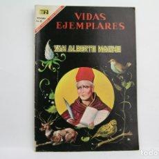 Tebeos: CÓMIC VIDAS EJEMPLARES - Nº 241, SAN ALBERTO MAGNO - ED. NOVARO, AÑO 1967. Lote 109364850
