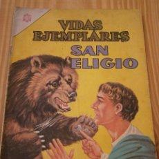Tebeos: VIDAS EJEMPLARES N° 210 - SAN ELIGIO - NOVARO ORIGINAL. Lote 109429831
