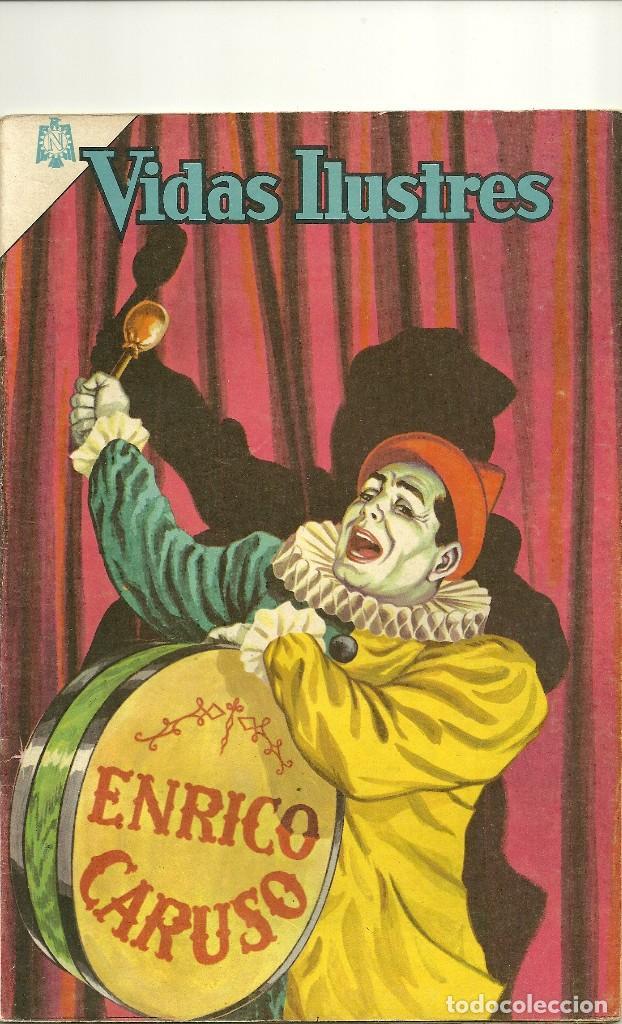 VIDAS ILUSTRES N° 111 - ENRICO CARUSO - ORIGINAL EDITORIAL NOVARO (Tebeos y Comics - Novaro - Vidas ilustres)
