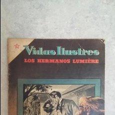 Tebeos: VIDAS ILUSTRES N° 6 - LOS HERMANOS LUMIERE - ORIGINAL EDITORIAL NOVARO. Lote 109650431