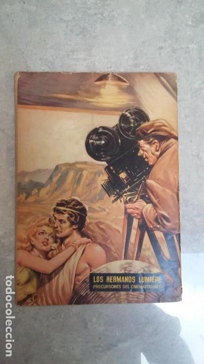 Tebeos: Vidas ilustres n° 6 - Los hermanos Lumiere - original editorial Novaro - Foto 2 - 109650431