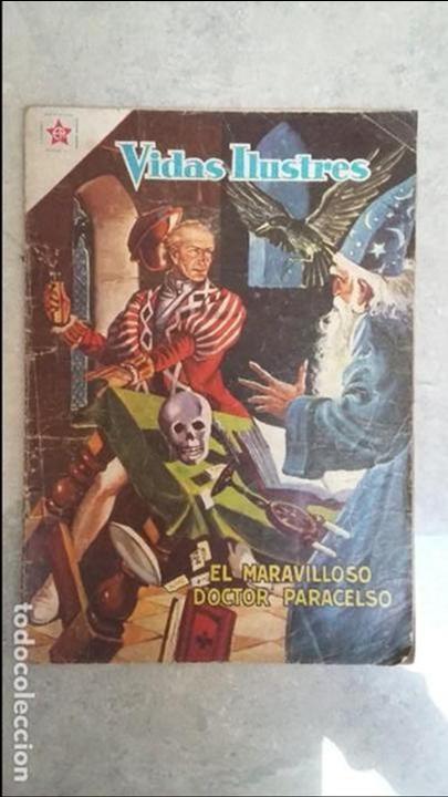 VIDAS ILUSTRES N° 33 - EL MARAVILLOSO DOCTOR PARACELSO - ORIGINAL EDITORIAL NOVARO (Tebeos y Comics - Novaro - Vidas ilustres)