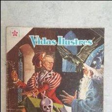 Tebeos: VIDAS ILUSTRES N° 33 - EL MARAVILLOSO DOCTOR PARACELSO - ORIGINAL EDITORIAL NOVARO. Lote 109651335
