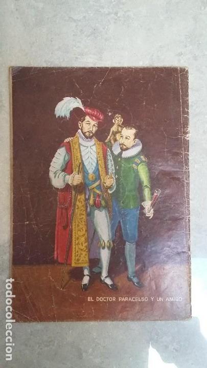 Tebeos: Vidas ilustres n° 33 - El maravilloso doctor Paracelso - original editorial Novaro - Foto 2 - 109651335