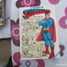 Tebeos: LA HISTORIA DE SUPERMAN TOMO. Lote 109784851