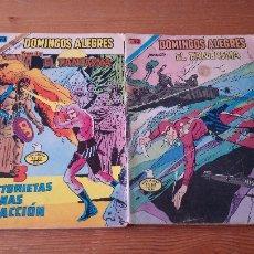 Tebeos: LOTE 2 COMIC DOMINGOS ALEGRES. Lote 109454311
