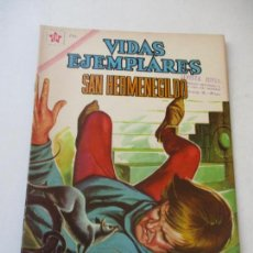 Tebeos: VIDAS EJEMPLARES Nº. 122 - SAN HERMENEGILDO.-1962. Lote 110466551