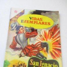 Tebeos: VIDAS EJEMPLARES Nº.81 SAN IGNACIO DE LOYOLA, EL GRAN BATALLADOR -1960. Lote 110467963