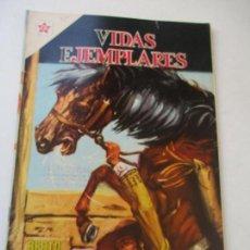 Tebeos: VIDAS EJEMPLARES Nº. 195 BEATO SEBASTIÁN DE APARICIO, APACIGUADOR DE FIERAS.-1961. Lote 110470067