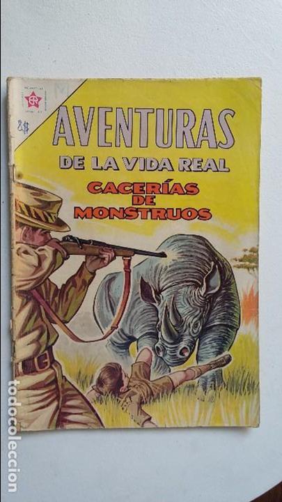 AVENTURAS DE LA VIDA REAL N° 86 - CACERÍA DE MONSTRUOS - ORIGINAL EDITORIAL NOVARO (Tebeos y Comics - Novaro - Otros)