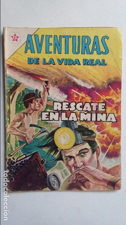 AVENTURAS DE LA VIDA REAL N° 76 - RESCATE EN LA MINA - ORIGINAL EDITORIAL NOVARO (Tebeos y Comics - Novaro - Otros)