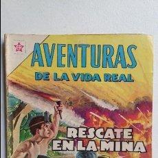 Tebeos: AVENTURAS DE LA VIDA REAL N° 76 - RESCATE EN LA MINA - ORIGINAL EDITORIAL NOVARO. Lote 110768647