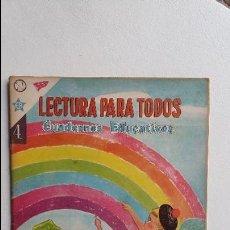 Tebeos: LECTURA PARA TODOS - CUADERNOS EDUCATIVOS N° 4 - FRASES - ORIGINAL EDITORIAL NOVARO. Lote 110828167