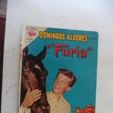 Tebeos: FURIA Nº 496 DOMINGOS ALEGRES NAVARO ORIGINAL. Lote 110880011