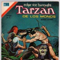 Tebeos: TARZAN DE LOS MONOS. EDGAR RICE BURROUGHS. Nº 364. LA HERMANDAD DE LA CALAVERA. 20 SETIEMBRE DE 1973. Lote 121959288