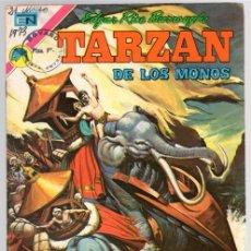 Tebeos: TARZAN DE LOS MONOS. EDGAR RICE BURROUGHS. Nº 329. LA JOYA SAGRADA. 18 DE ENERO DE 1973. Lote 111225159