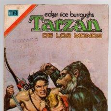 Tebeos: TARZAN DE LOS MONOS. EDGAR RICE BURROUGHS. Nº 404. UN PLAN MALVADO. 3 DE AGOSTO DE 1974. Lote 121959392