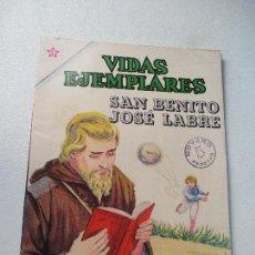 Tebeos: VIDAS EJEMPLARES N.º. 154.-SAN BENITO JOSÉ LABRE- 1963. Lote 111245103