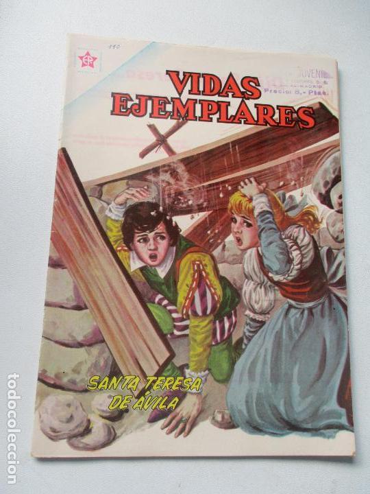 VIDAS EJEMPLARES N.º. 110 - SANTA TERESA DE ÁVILA1961 (Tebeos y Comics - Novaro - Vidas ejemplares)