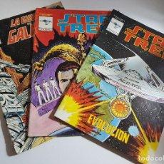 Tebeos: LOTE 3 COMICS LA GUERRA DE LAS GALAXIAS Y STAR TREK ( NÚMEROS 2, 4, 9 ). Lote 111341947