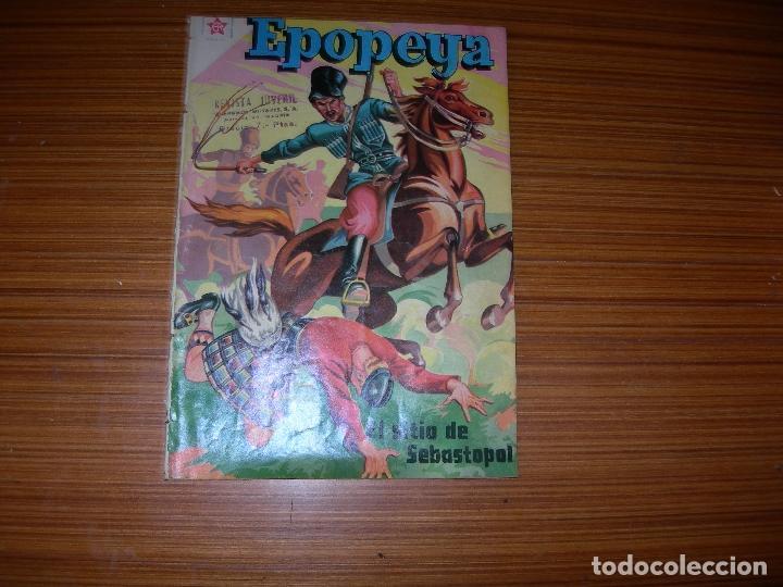 EPOPEYA Nº 11 EDITA NOVARO (Tebeos y Comics - Novaro - Epopeya)