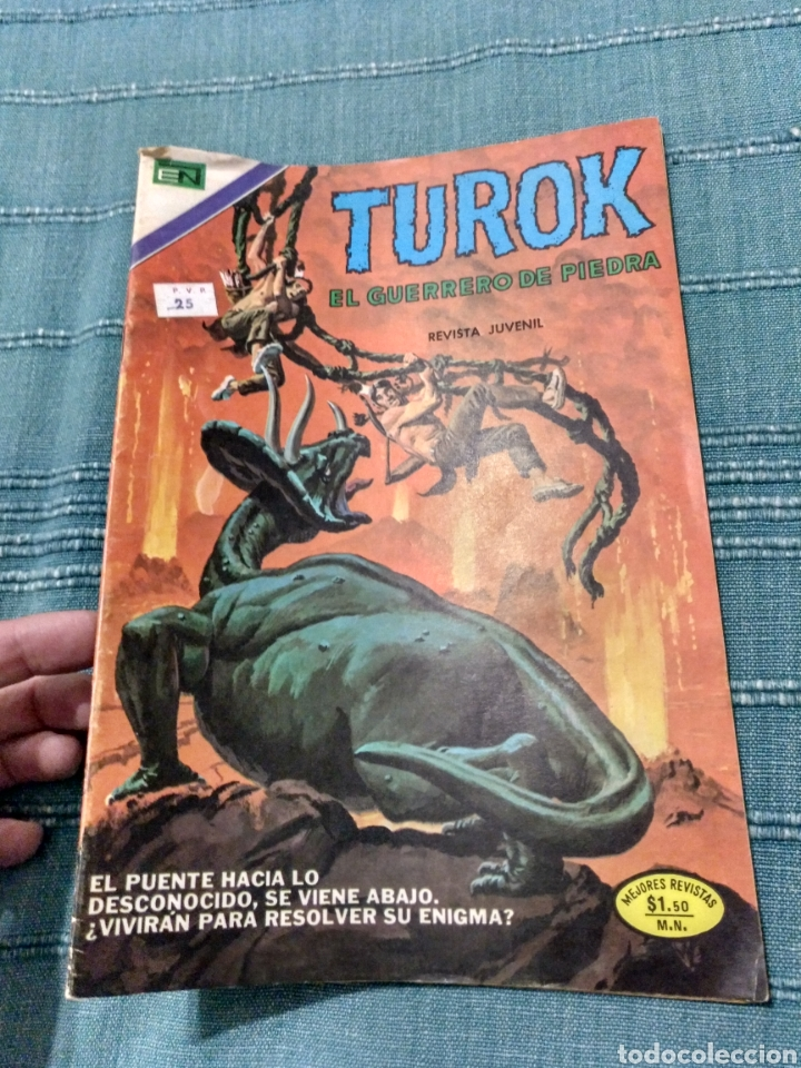 TUROK EL GUERRERO DE PIEDRA SON OF STONE NOVARO (Tebeos y Comics - Novaro - Otros)