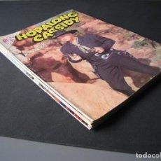 Tebeos: HOPALONG CASSIDY (1954,ERSA/NOVARO) LOTE DE 4 Nº :103,105,106,111. Lote 112043891
