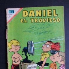 Tebeos: DANIEL EL TRAVIESO Nº 34 EDITORIAL NOVARO. Lote 112045815