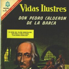 Tebeos: VIDAS ILUSTRES Nº 149: DON PEDRO CALDERÓN DE LA BARCA.. Lote 112171379