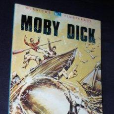 Tebeos: CLÁSICOS ILUSTRADOS NO. 5 - MOBY DICK (NOVARO). Lote 112618299