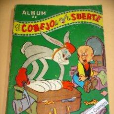 Tebeos: EL CONEJO DE LA SUERTE, ALBUM 25, CONTIENE LOS Nº 23 29 30 40 Y 49, NOVARO SEA, 1952, LOTE, ERCOM. Lote 112837659