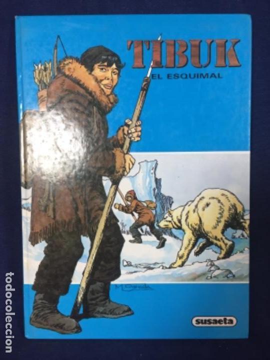 TIBUK EL ESQUIMAL EDICIONES SUSAETA QUESADA 1981 (Tebeos y Comics - Novaro - Aventura)