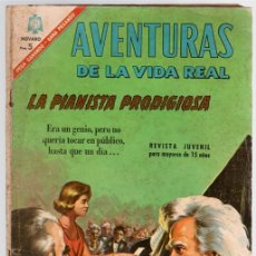 BDs: AVENTURAS DE LA VIDA REAL. LA PIANISTA PRODIGIOSA. Nº 131. 1 DE NOVIEMBRE DE 1966. Lote 113249398