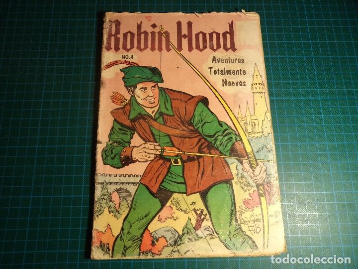 ROBIN HOOD. Nº 4. ENS. MEXICO. (M-40). (Tebeos y Comics - Novaro - Otros)