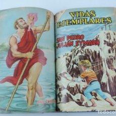 Tebeos: VIDAS EJEMPLARES, EDICIONES RECREATIVAS S.A., NOVARO, 27 BIOGRAFIAS ENCUADERNADAS EN UN TOMO, DEL NU. Lote 113769351