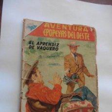 Tebeos: EPOPEYAS DEL OESTE Nº 59 AVENTURA NAVARO ORIGINAL. Lote 113898059