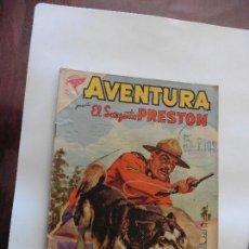Tebeos: SARGENTO PRESTON Nº 134 AVENTURA NAVARO ORIGINAL. Lote 113898967