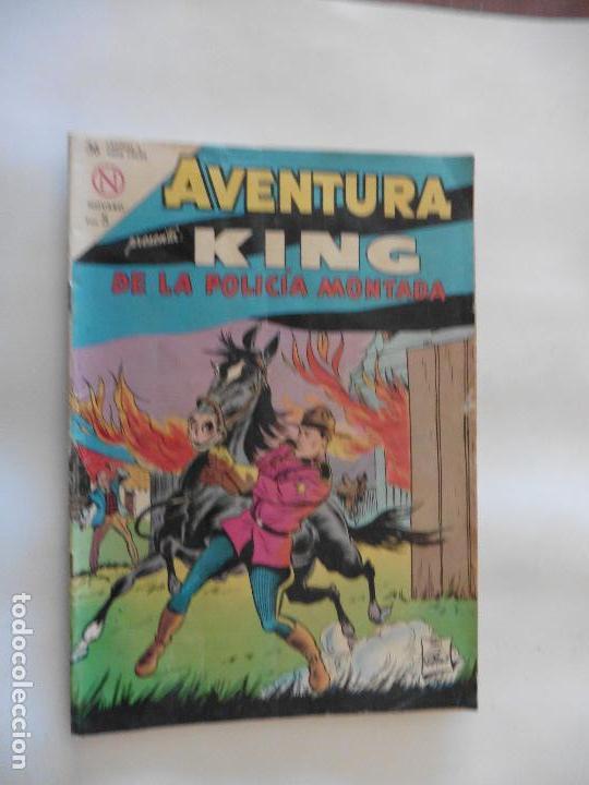 KING DE LA POLICIA MONTADA Nº 321 AVENTURA NAVARO ORIGINAL (Tebeos y Comics - Novaro - Aventura)
