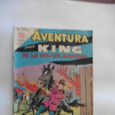 Tebeos: KING DE LA POLICIA MONTADA Nº 321 AVENTURA NAVARO ORIGINAL. Lote 113899459
