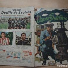 Tebeos: EL LLANERO SOLITARIO - NÚMERO 189 - AÑO 1968 - NOVARO. Lote 114073467