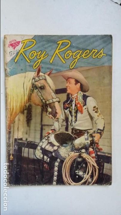ROY ROGERS N° 98 - ORIGINAL EDITORIAL NOVARO (Tebeos y Comics - Novaro - Roy Roger)