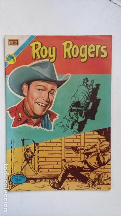 ROY ROGERS N° 289 - ORIGINAL EDITORIAL NOVARO (Tebeos y Comics - Novaro - Roy Roger)